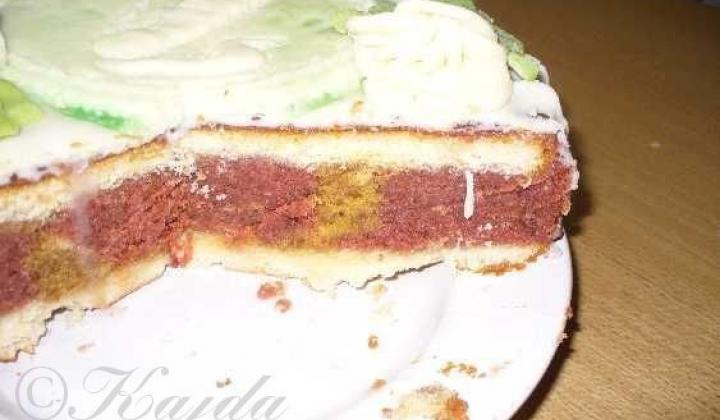 Punčový dort | recept od Kajdy